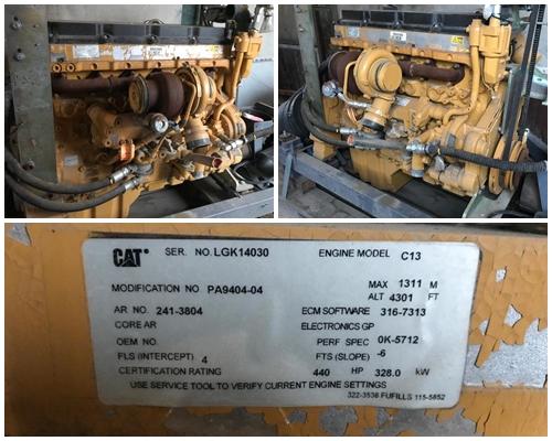 Cat motor