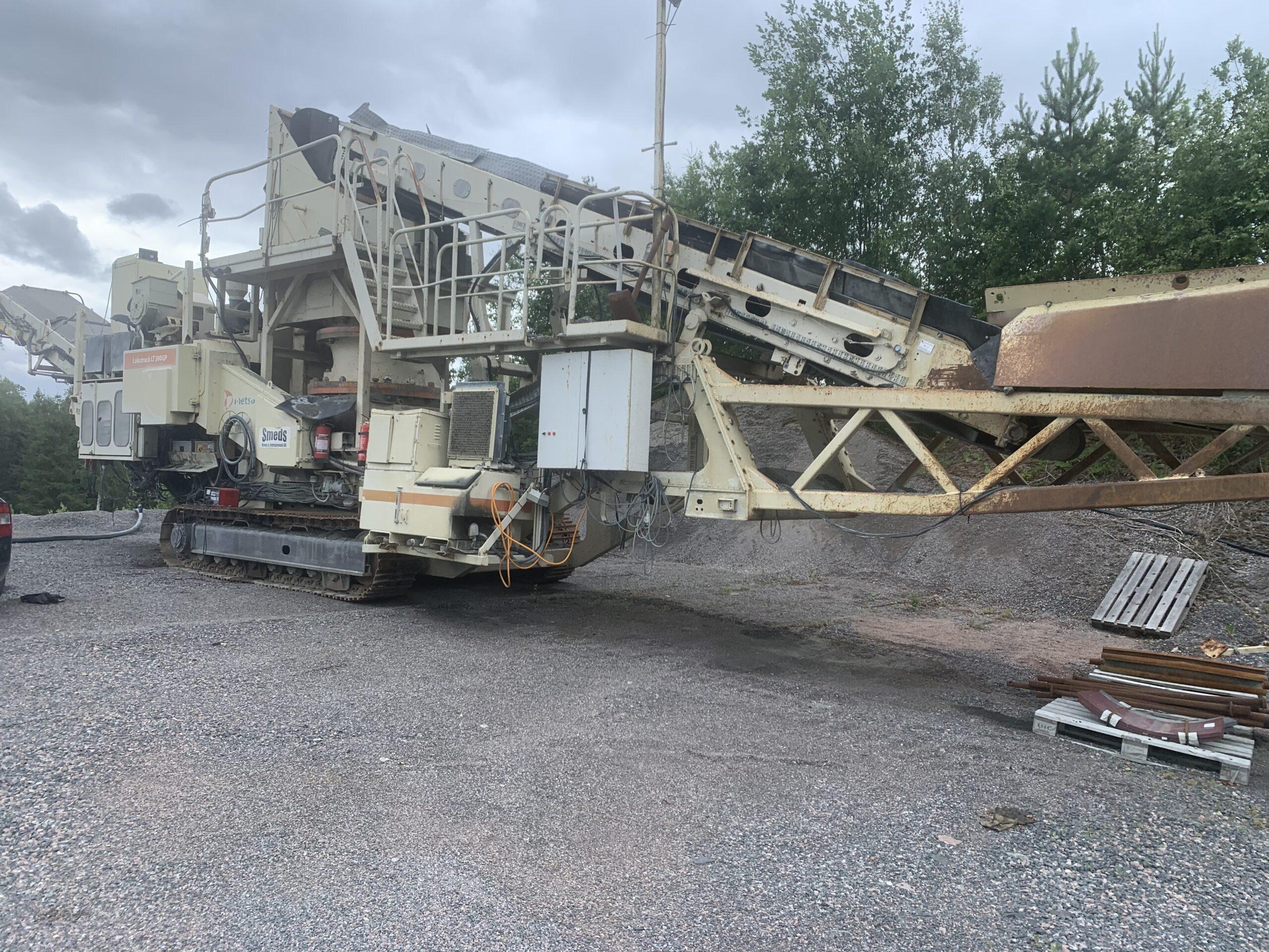 Transportabla krossar GP300